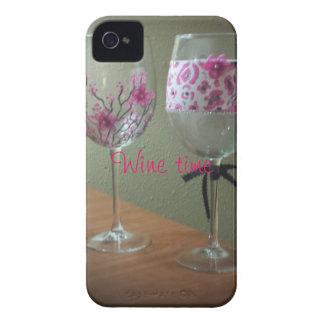 ワインの時間iPhoneの場合 Case-Mate iPhone 4 ケース