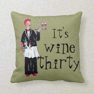 ワインの枕 クッション