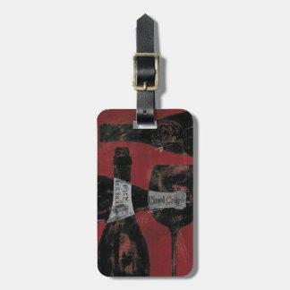 ワインの選択 ラゲッジタグ