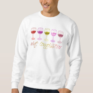ワインの鑑識家の基本的なスエットシャツ スウェットシャツ