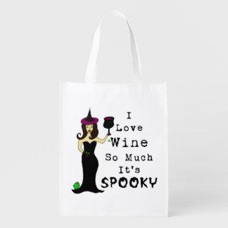 ワインの魔法使いI愛ワインそんなにそれは気味悪いです エコバッグ