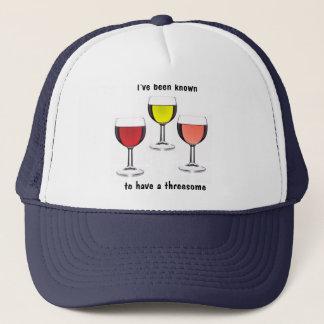 ワインのThreesome キャップ