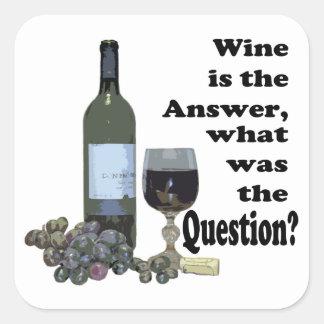 ワインは答え、何でした質問ですか。 Gits スクエアシール