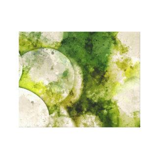 ワインを作るのに使用される緑のブドウ キャンバスプリント