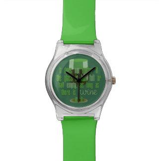 ワイングラスの腕時計 腕時計