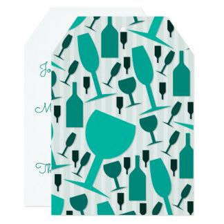ワイングラスパターン カード