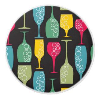 ワイングラス セラミックノブ