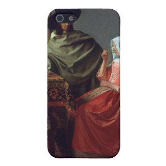 ワイングラス、1月Vermeer iPhone 5 Cover