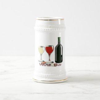 ワインバー-ワインステイン ビールジョッキ