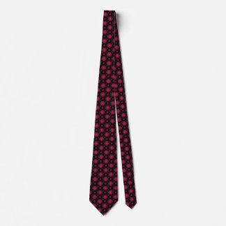 ワインレッドの目の錯覚の流行のおもしろい ネクタイ