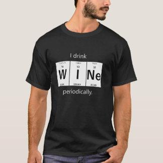 ワイン元素化学Tシャツ Tシャツ