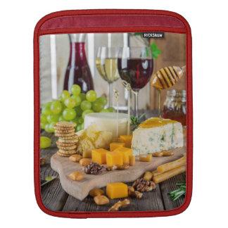 ワイン及びチーズ前菜、iPad Miniスリーブ iPadスリーブ