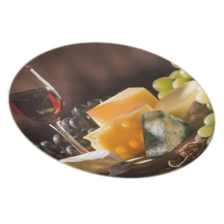 ワイン及びチーズ プレート