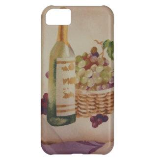ワイン及びブドウ iPhone5Cケース