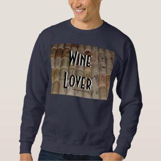 ワイン愛好家のスエットシャツ スウェットシャツ