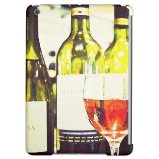 ワイン愛好家の水彩画