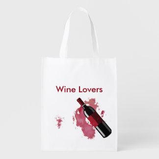 ワイン愛好家 エコバッグ
