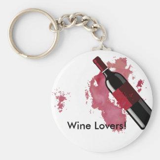 ワイン愛好家Keychain キーホルダー