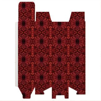 ワイン用化粧箱-菊の赤Kaleidoscopics ワインギフトボックス