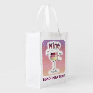ワイン、より多くのワイン、さらにワイン エコバッグ