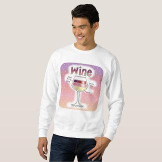 ワイン、より多くのワイン、さらにワイン スウェットシャツ