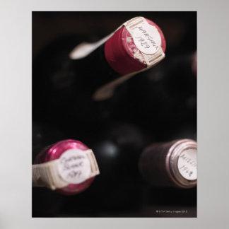 ワイン、クローズアップ、スウェーデンのボトル ポスター