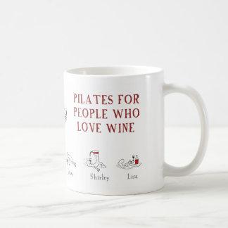 """ワイン""""ハロルド惑星""""が愛する人々のためのPilates コーヒーマグカップ"""