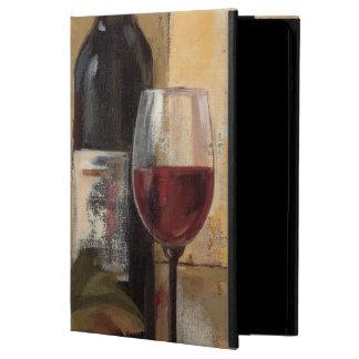 ワイン・ボトルおよびワイングラス iPad AIRケース