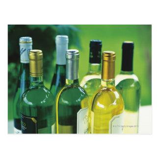 ワイン・ボトルの変化 ポストカード