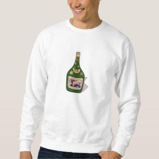ワイン・ボトル スウェットシャツ