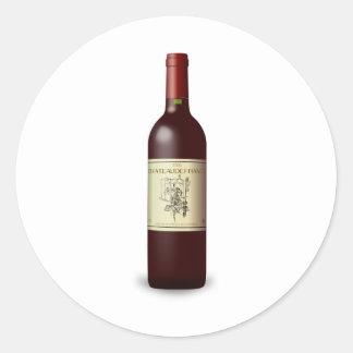 ワイン・ボトル ラウンドシール