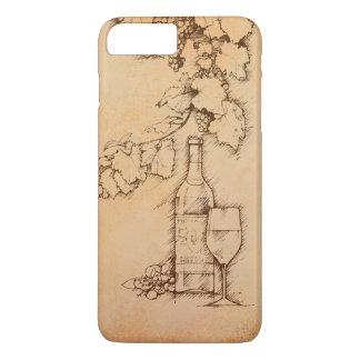 ワイン iPhone 8 PLUS/7 PLUSケース