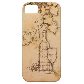ワイン iPhone SE/5/5s ケース