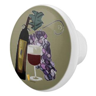 ワインnのブドウ セラミックノブ