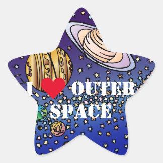ワウの着色のカラフルな宇宙は惑星を主演します 星シール