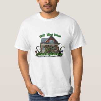 ワウの雑草戦争の隣人の挑発 Tシャツ
