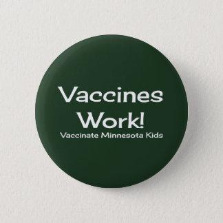 ワクチンの仕事、ミネソタ! ボタン 5.7CM 丸型バッジ