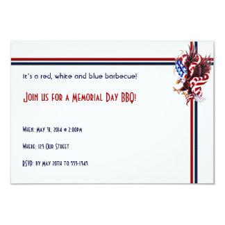 ワシおよび米国旗のTatooのイラストレーションのスタイル カード