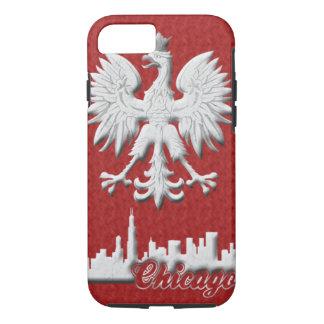 ワシのシカゴのポーランドのスカイライン iPhone 8/7ケース