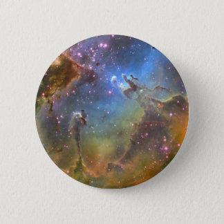 ワシの星雲の広分野のイメージ 5.7CM 丸型バッジ