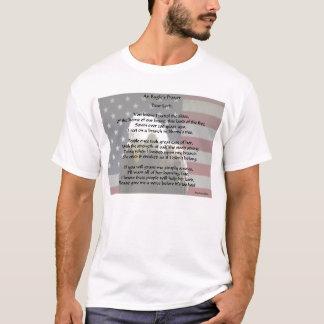 ワシの祈りの言葉v2のTシャツ Tシャツ