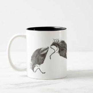 ワシの羽 ツートーンマグカップ