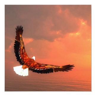 ワシの飛行- 3Dは描写します カード