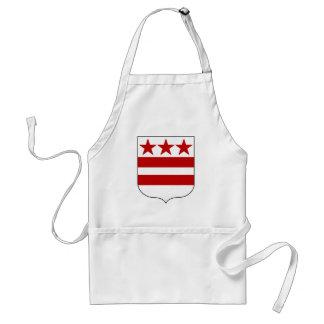 ワシントン州のエプロン紋章付き外衣 スタンダードエプロン