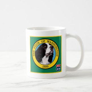 ワシントン州のスプリンガースパニエル コーヒーマグカップ