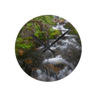 ワシントン州のレーニア山国立公園2 ラウンド壁時計