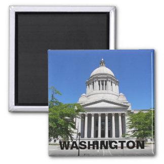ワシントン州の国会議事堂旅行写真 マグネット
