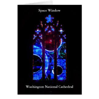 ワシントン州の国民のカテドラルの宇宙の窓 カード