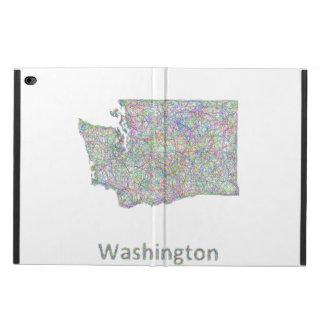 ワシントン州の地図 POWIS iPad AIR 2 ケース