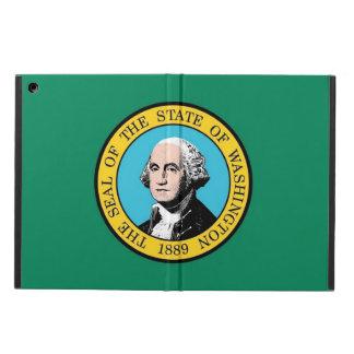 ワシントン州の旗との愛国心が強いipadの場合 iPad airケース